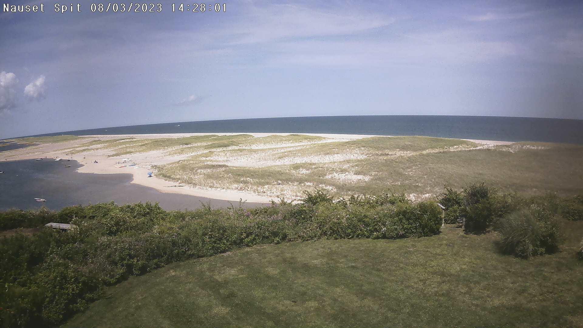 Nauset Beach Webcam, Orleans, MA